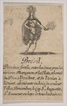 Brésil, 1644. Creator: Stefano della Bella.