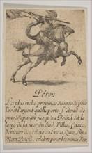Pérou, 1644. Creator: Stefano della Bella.