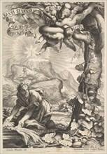 Frontispiece of Fasti Senenses, 1645-1704. Creator: Guillaume Vallet.