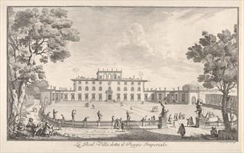 The Royal Villa called il Poggio Imperiale