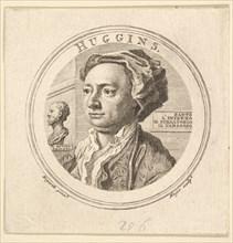 Portrait of William Huggins, translator of Ariosto, 1760. Creator: Thomas Major.