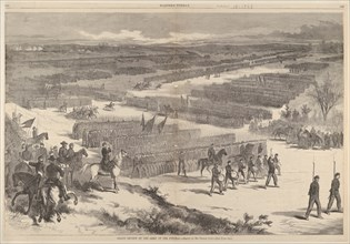 Grand Review of the Army of the Potomac - Drawn by Mr. Thomas Nast