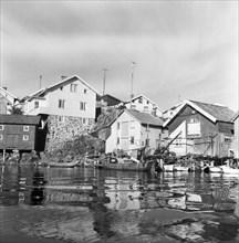 Gullholmen Bohuslan, Sweden, 1958.  Creator: Unknown.