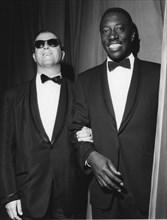 Joe Williams and George Shearing, 1962. Creator: Brian Foskett.