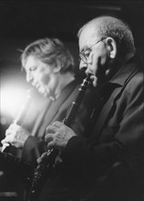 John Barnes and Andy Cooper, c2005. Creator: Brian Foskett.