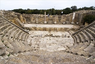 Libya, Cyrene, Odeon, 2007. Creator: Ethel Davies.