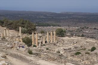 Libya, Cyrene, Sanctuary of Apollo, Temple of Apollo, 2007. Creator: Ethel Davies.