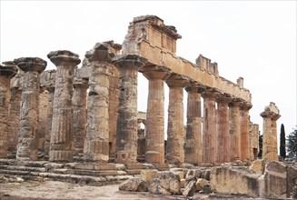 Libya, Cyrene, Temple of Zeus, 2007. Creator: Ethel Davies.