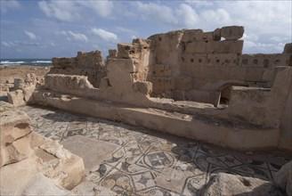 Libya, Sabratha, Theatre Baths, 2007. Creator: Ethel Davies.