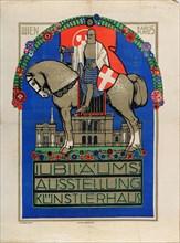 Anniversary Exhibition Vienna Künstlerhaus, 1908. Creator: Breitner, Josef