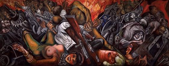 Catharsis, 1935. Creator: Orozco, José Clemente