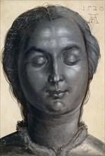 Head of a woman, 1520. Creator: Dürer, Albrecht
