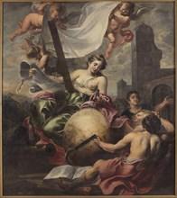Allegory of Geometry, First Half of 17th cen.. Creator: Schut, Cornelis