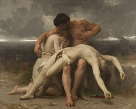 The first duel, 1888. Creator: Bouguereau, William-Adolphe