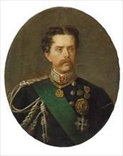 Portrait of King Umberto I of Italy