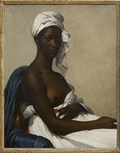 Portrait d'une femme noire, 1800. Creator: Benoist, Marie-Guillemine