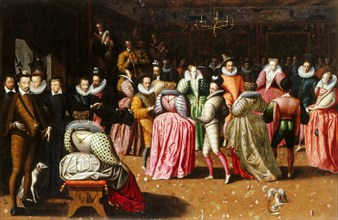 The Ball at the Court of Henry III of France, 1575-1600. Creator: Anonymous.