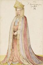 Livonian Lady, 1521. Creator: Dürer, Albrecht