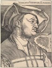 Ulrich Van Büler.n.d. Creator: Albrecht Durer.