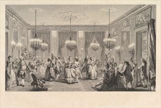 Le Bal Paré, 1774. Creator: Antoine Jean Duclos.