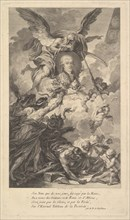 Portrait of Simon-Nicolas-Henri Linguet, 1780. Creator: Augustin de Saint-Aubin.