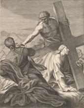 Christ Carrying the Cross, 1680-1719. Creator: Benoit Thiboust.
