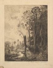 The Satyr, 1850. Creator: Charles Francois Daubigny.