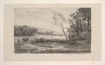 Autumn, 1848. Creator: Charles Francois Daubigny.