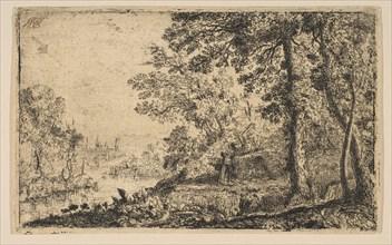 The Vision, ca. 1630. Creator: Claude Lorrain.