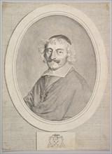 Alphonse III Delbène, Bishop of Orléans. Creator: Claude Mellan.