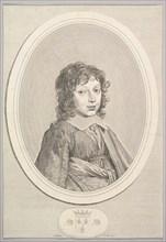 Armand de Bourbon, prince de Conti. Creator: Claude Mellan.