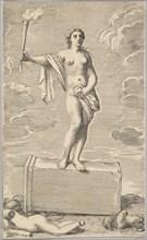 Feminine Figure. Creator: Claude Mellan.
