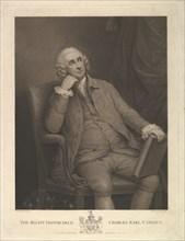 The Right Honorable Charles Pratt, 1st Earl Camden, Lord Chancellor, 1795. Creator: Francesco Bartolozzi.