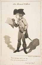 An Honest Fellow, December 1, 1790. Creator: George Moutard Woodward.