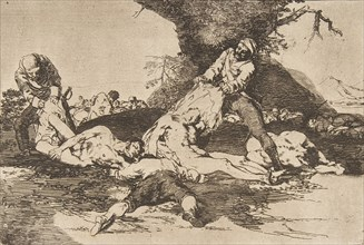 Plate 16 from 'The Disasters of War'