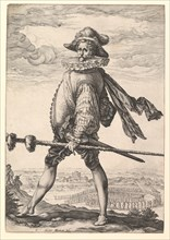 Captain of Infantry, 1587. Creator: Hendrik Goltzius.