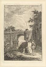 L'Arc de Triomphe.n.d. Creator: Hubert Robert.