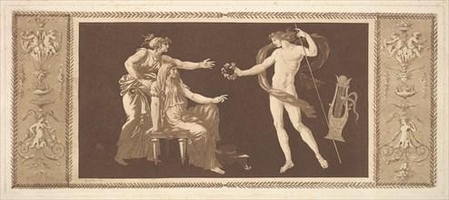 Apollon couronnant les arts