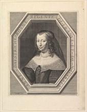 Anne d'Autriche, reine de France, en deuil de cour. Creator: Jean Morin.