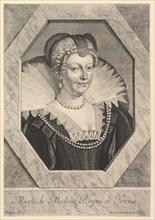 Marie de Medicis, reine de France. Creator: Jean Morin.