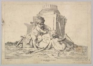 Architecture, 18th century. Creator: Johann Georg Hertel.