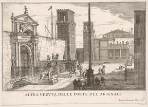Plate 63: View of the gate of the shipyard and armory complex