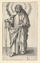 St. Simon, ca. 1510. Creator: Lucas van Leyden.