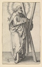 St. Andrew, ca. 1510. Creator: Lucas van Leyden.