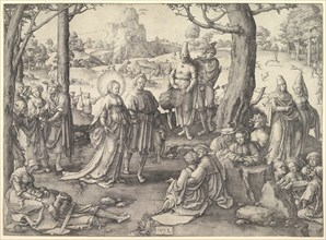 Dance of St. Mary Magdalene, 1519. Creator: Unknown.