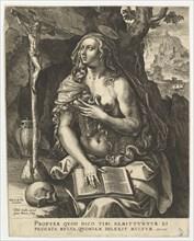 Mary Magdalen.n.d. Creator: Jan Wierix.