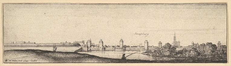 Strasbourg, 1642-44. Creator: Wenceslaus Hollar.