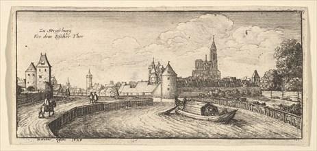 Strasbourg, 1663-65. Creator: Wenceslaus Hollar.