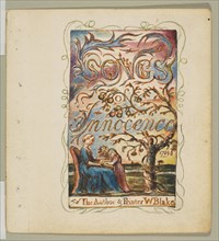 Songs of Innocence: Title Page, ca. 1825. Creator: William Blake.