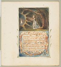 Songs of Innocence and of Experience: Little Boy Lost, ca. 1825. Creator: William Blake.